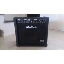 Amplificador Roller Mx50 - Teclado-voz-mp3 Ideal Karaoke