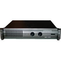 American Pro Apx Ii 1200 Amplificador Potencia Dj