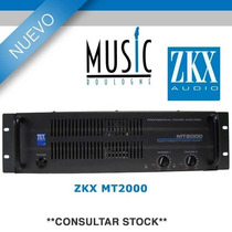 Potencia Nacional Zkx Mt2000 - Bm Music Boulogne