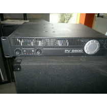 Amplificador De Potencia Peavey Pv-2600 Envio Gratis
