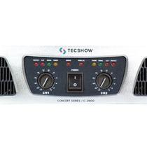 Potencia American Pro Concert C-2600 Tec Show