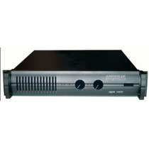 Potencia American Pro Apx 600 - (300 W + 300 W / 4 Ohms)