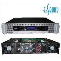E-sound Vtx 1500 Amplificadores Con Display