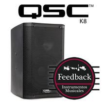 Qsc K8- Bafle Activo Potenciado 1000 Watts