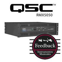Qsc Rmx5050 - Amplificador De Potencia 1800w 4 Ohms