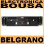 Potencia Novik Novo 900 Stereo 900w Rms Briege 300+300 8ohms