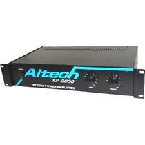 Amplificador De Potencia Estereo 800watts Altech Xp 2000 .