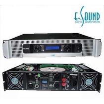 Amplificador De Potencia E-sound Vtx-1000 500w X2 4ohm Nvo