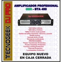 Potencia Profesional Gbr Bta 450 650 Watts Modelo 2016