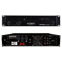 Amplificador De Potencia Cpx 900 Crest
