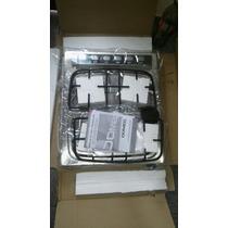 Anafe Electrico Hornallas Domec Multigas Acero Inoxidable