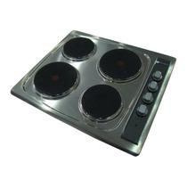 Anafe Eléctrico Domec Aex4 Empotrar De 4 Hornalla Acero Inox