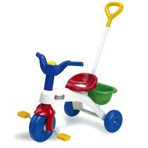Triciclo Rondi Con Barral Para Nene Y Nena