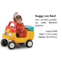 Auto Andador Buggy / Auto De Paseo Con Manija, Nuevo Rotoys