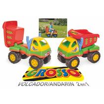 Andador 2 En 1 Y Camion Volcador Grosso Luni Original