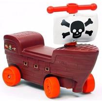 Andarin Barco Pirata Vegui Andador De Arrastre Con Direccion