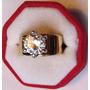 Accesorios De Moda, Anillos Enchapados En Oro Cubic Zirconia