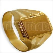Anillo Sello Grabar Rolex 3 Grs Alianza Oro 18 Kts. Se4025