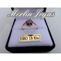 Anillo Cintillo Frutila Oro18k - Merlin Joyas-