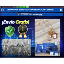 Swarovski Edicion Limitada Collar Colgante Oro 18k Flor