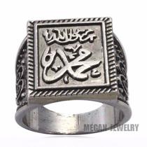 Fino Anillo Clásico Unisex Islam Muhammed Es Profeta De Dios