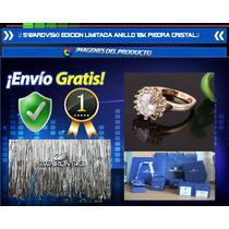 Alianza Anillo Swarovski Edicion Limitada Oro 18k Diamante