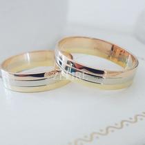Alianza De Matrimonio De 3 Oros 18k
