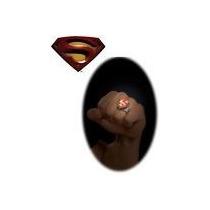 Peliculas Y Comic Anillo Superman En Blister Importados