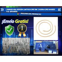 Swarovski Edicion Limitada Oro 18k Cadena Oro Maziso 14,5grs