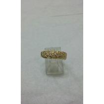 Anillo Cintillo De Oro 18k / Compromiso / Solitario