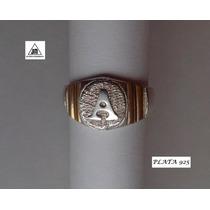 Anillo De Inicial A Echo En Plata 925 Con Detalles De Oro