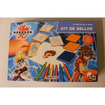 Bakugan Battle Brawlers Kit De Sellos Para Niños +3 Años