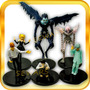 Death Note-set De 6 Figuras-ryuk-light-rem-l-misa