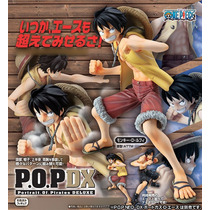 One Piece Monkey D Luffy P.o.p. Dx Pvc Figure Portraits
