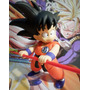 Dragon Ball Z Goku Niño Con Báculo - Banpresto -