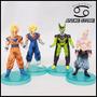 Set X 4 Figuras Dragon Ball Z - Vegetto , Goku , Cell & Buu