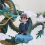 Figura De Coleccion Dragon Shen Long Y Goku - Dragon Ball Z
