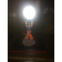 Velador De Coleccion/ Goku Haciendo Genkidama