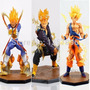 Muñecos Dragon Ball Z Bandai - Goku Vegeta Trunks & Freezer