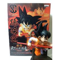 Dragon Ball Z Son Goku 100% 15 Cm Original Banpresto Haedo