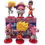 Dragon Ball Z Mini Figuras Batalla Vs Boo Set X6