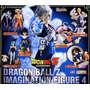 Dragon Ball Z Dbz Imagination 4 Gashapon Set Bandai Japon