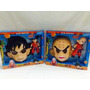 Mascara + Muñeco Dragon Ball C/ Luz Y Sonido Goku Y Krillin