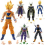 Dragon Ball Z X 6: Goku Vegeta Piccolo Ghohan Cell P Trunks