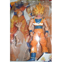 Muñecos Dragon Ball Z De 16 Cmts