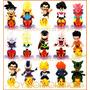 Dragon Ball Z Mini Toy Sticker Design Chara Puchi Cell Goku