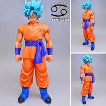 Goku Super Saiyajin Dios Azul Ssjgssj Dragon Ball Z 26 Cm
