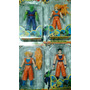 Set De Muñecos Dragon Ball Z - Combo Oferta X4