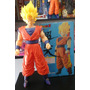 Muñeco Goku Super Sayayin - Tamaño Grande - Dragon Ball