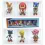 Sonic The Hedgehog Set 6 Figuras Original Team Sega En Caja